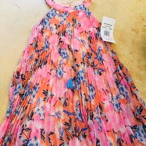 Rare addiction girls dress new with tags coral